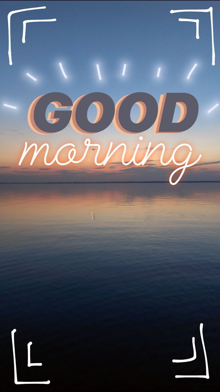 Good Morning! - #Good #morning #snapchat #roundsnapideas