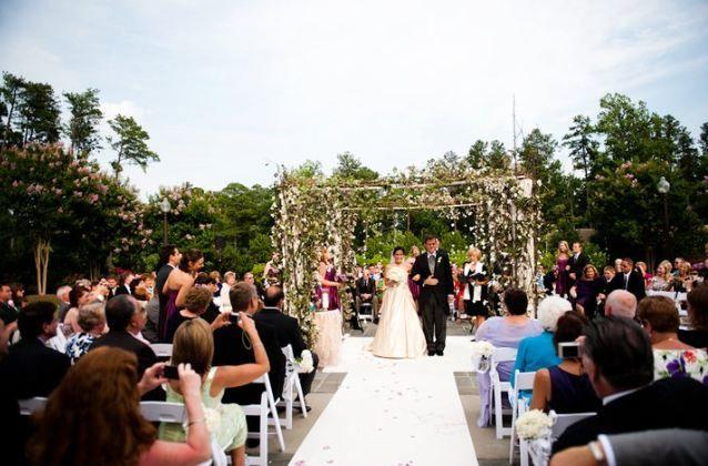 Wedding Ceremony At The Washington Duke Inn