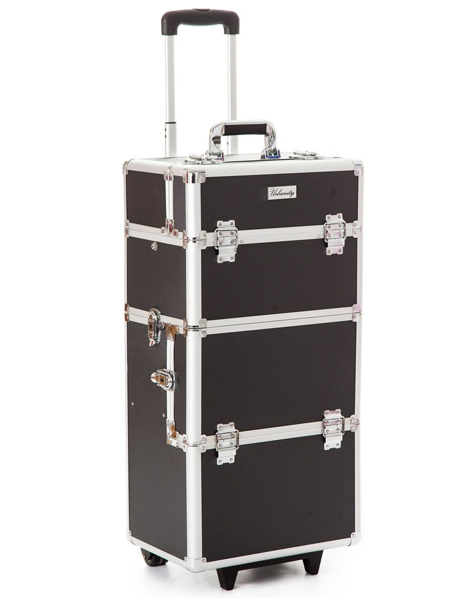 Beauty Trolleys Urbanity Elite Makeup Trolley In Black Croc Urbanity Elite
