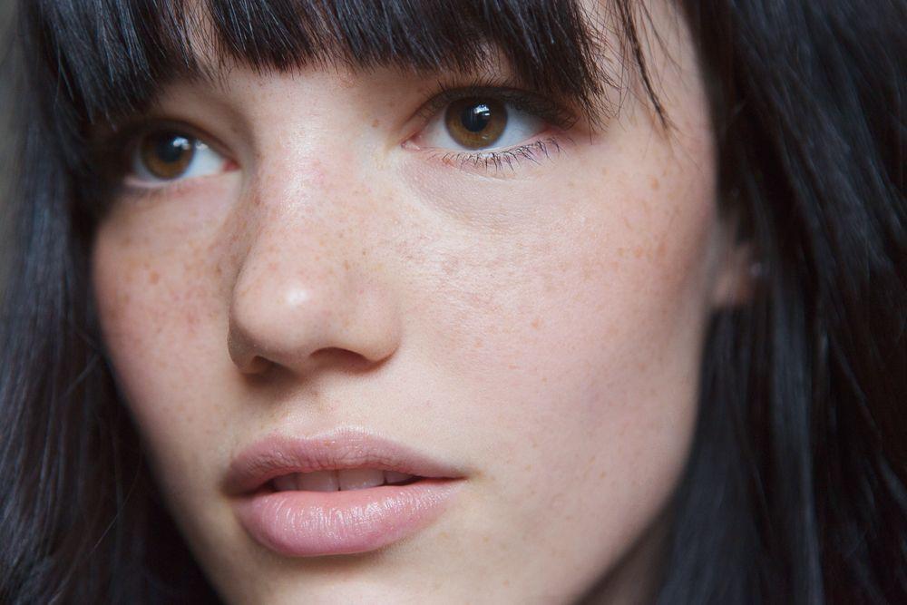 Anya Lyagoshina's Fake Freckles