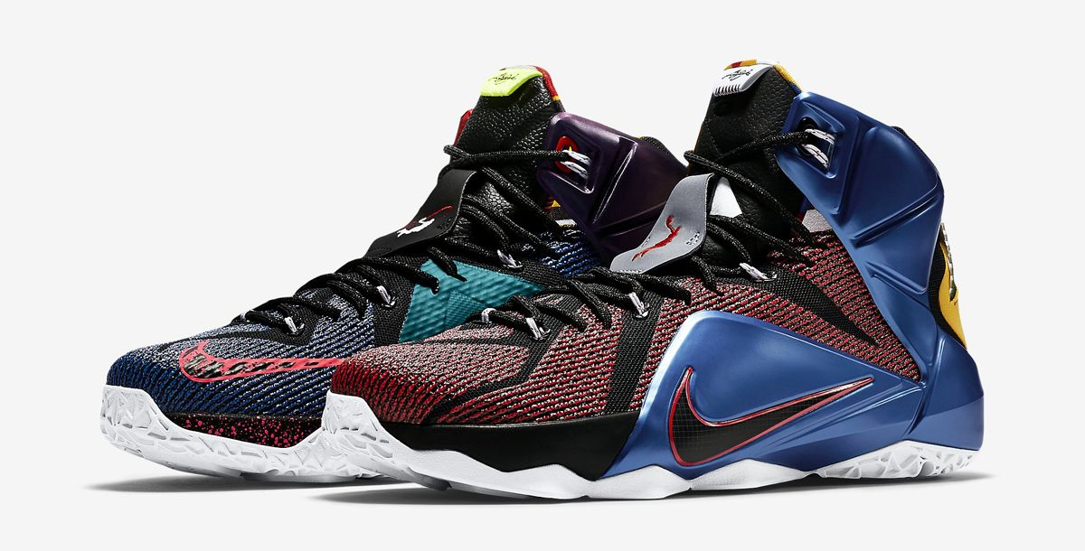 Here's a Detailed Look at the What the LeBron 12