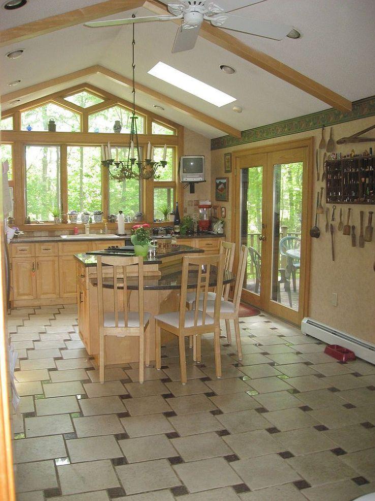 Kitchen floor upgrade.   Kitchen flooring, Flooring, Small ...