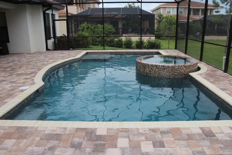 Tampa Bay Pools can design a classical geometric custom pool and spa ...
