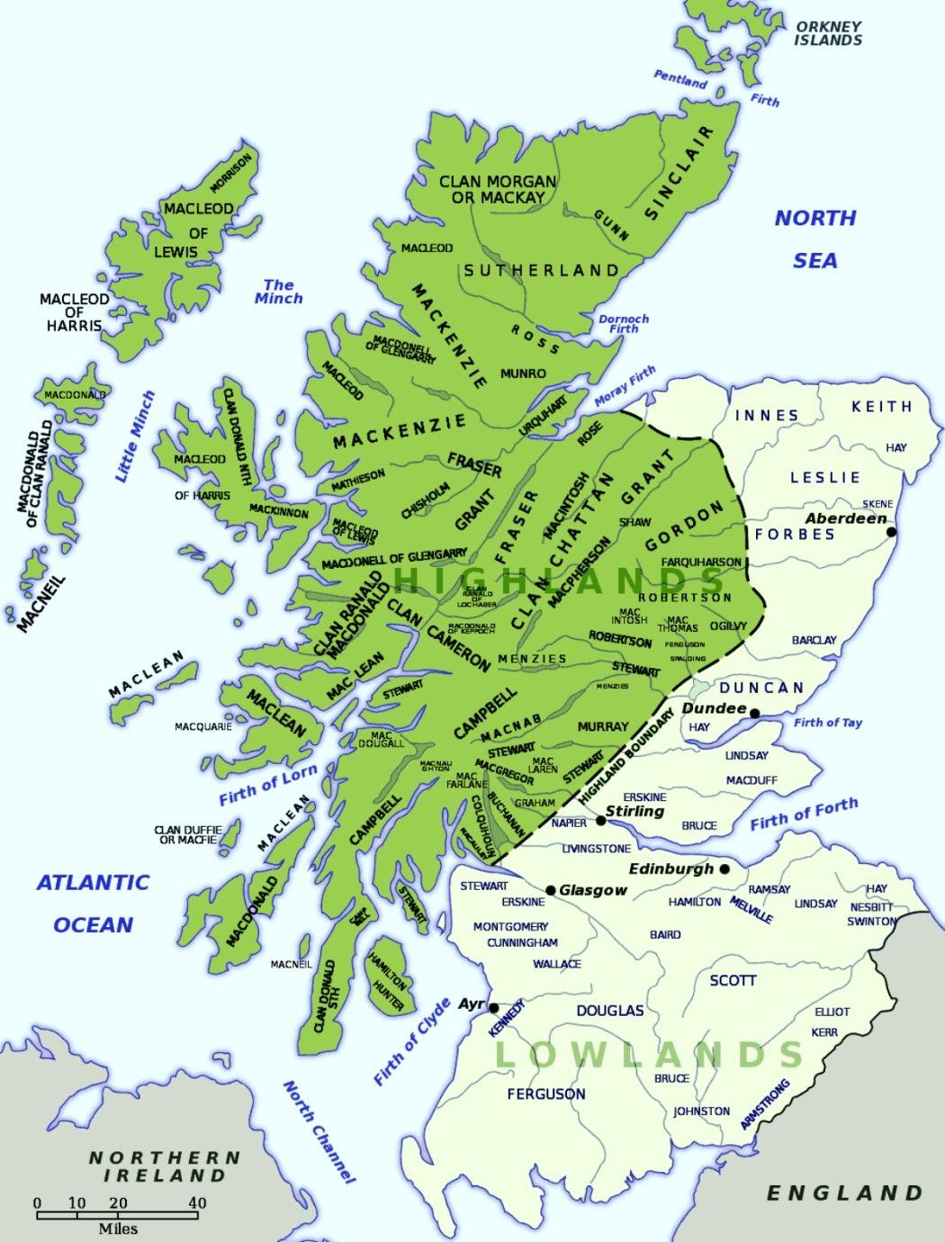 Clans Of Scotland Scottish Culture