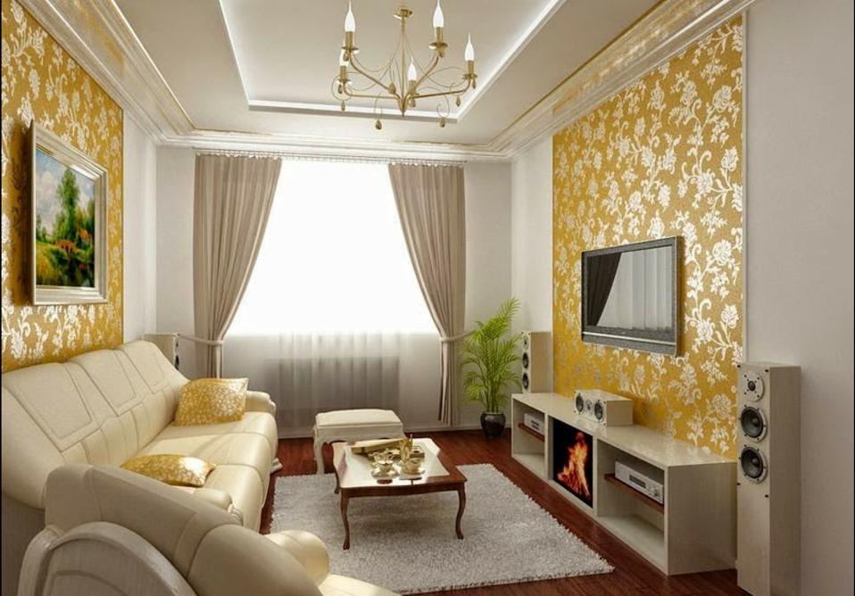 Красивый дизайн небольшой гостиной фото тех