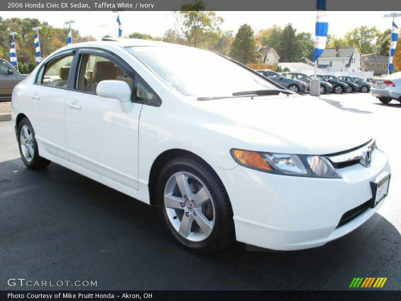 White Honda Civic Ex Sedan Cars Pinterest Honda