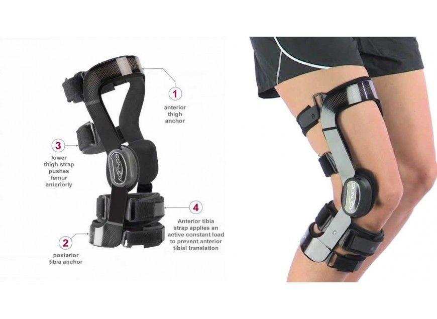 Orteza Na Kolano Donjoy Djoglobal Armor Fullforce Legend Playmaker Trupull Hinged Knee Brace Knee Brace Braces