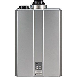 Rinnai Rur98in 9 8 Max Gpm Ultra Series Condensing Indoor Natural Gas Tankless Water Heater With R Tankless Water Heater Tankless Water Heater Gas Water Heater