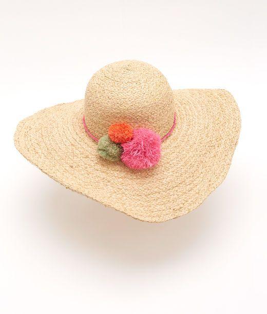 Pom Pom Straw Hat Hats Pom Pom Hat Hats For Women