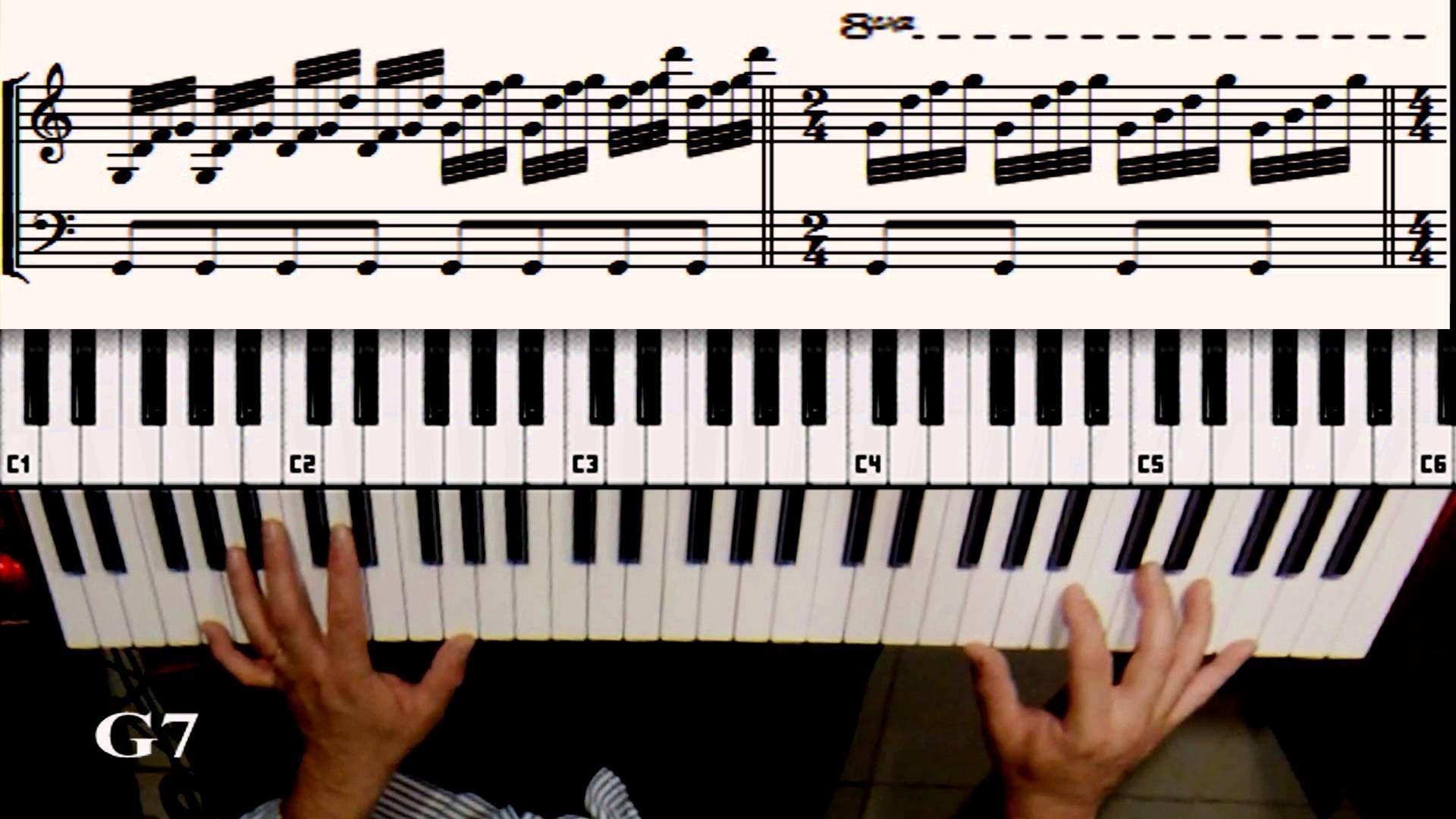Pin De Zanete Freiberger Em The Piano Com Imagens Teclado