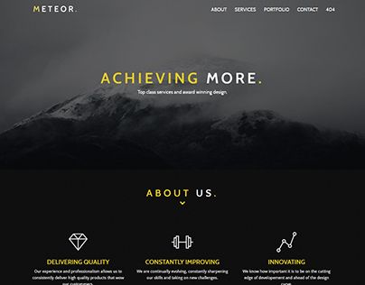 """Check out new work on my @Behance portfolio: """"M E T E O R"""" http://be.net/gallery/52286533/M-E-T-E-O-R"""