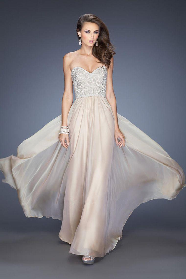 A Line Princess Prom Dresses