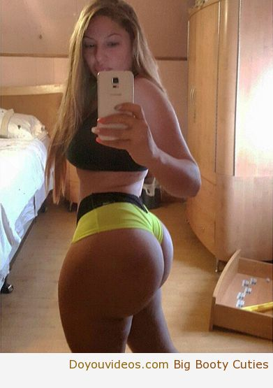 White Girl With An Ass