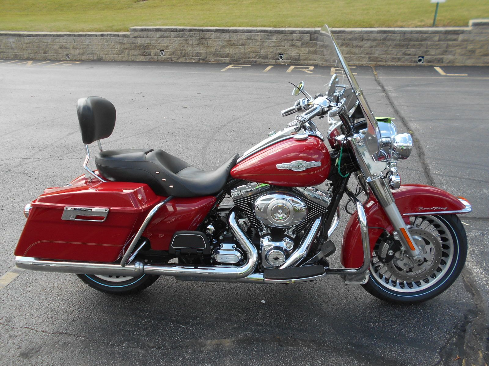 This is my harley davidson road king firefighter special edition