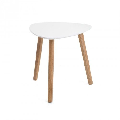 Taps Side Table White White Side Tables Side Table Living Room Accent Tables