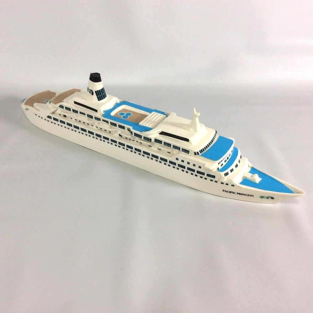 The Love Boat Pacific Princess Cruise Ship Model Display - Love boat cruise ship
