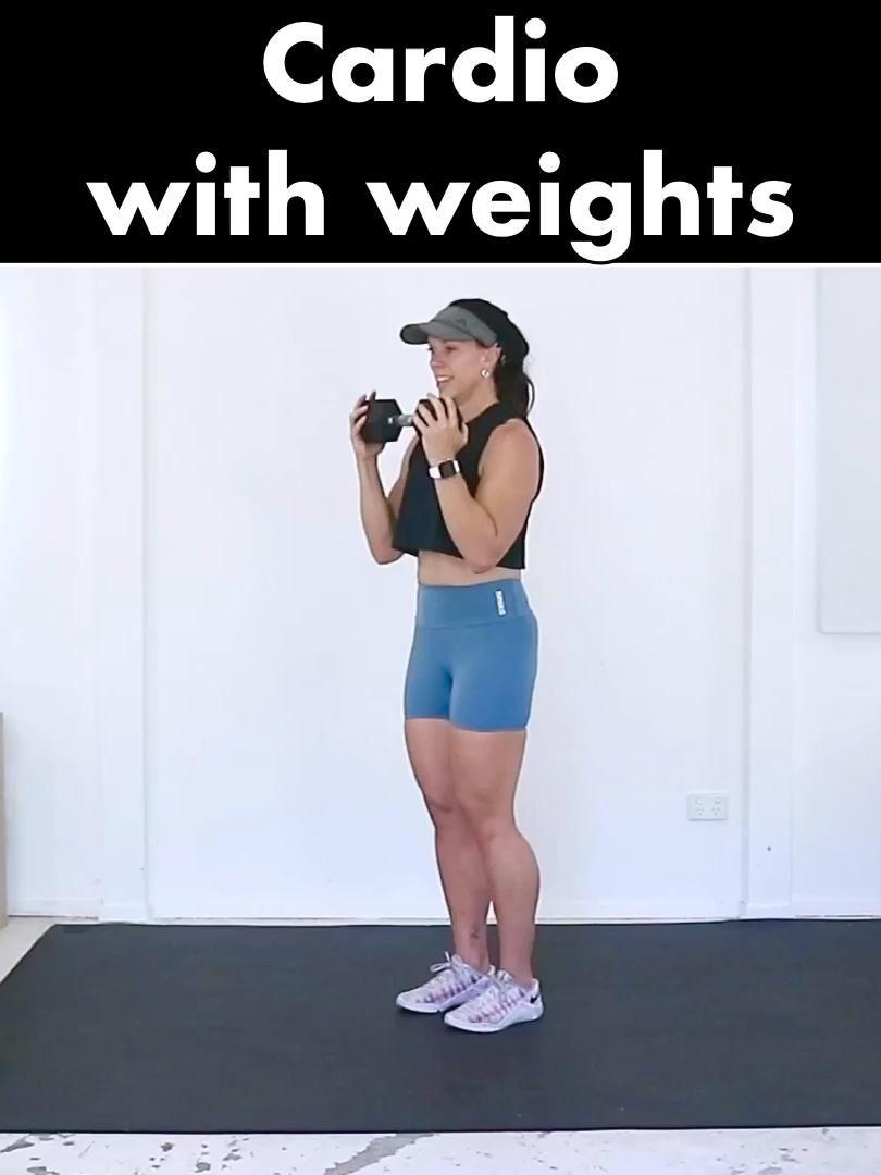 #cardio #cardioworkout #hiit #weights #athome #youtubechannel #garagefitnessgirl