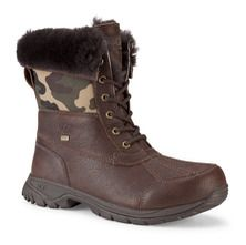 Ugg Butte Camo In Chocolate Camo Mens Uggs Ugg Butte Boots