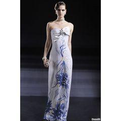 Classical Beauty Chiffon Straight Neck Sleeveless A-Line Evening Dress for R1,798.73
