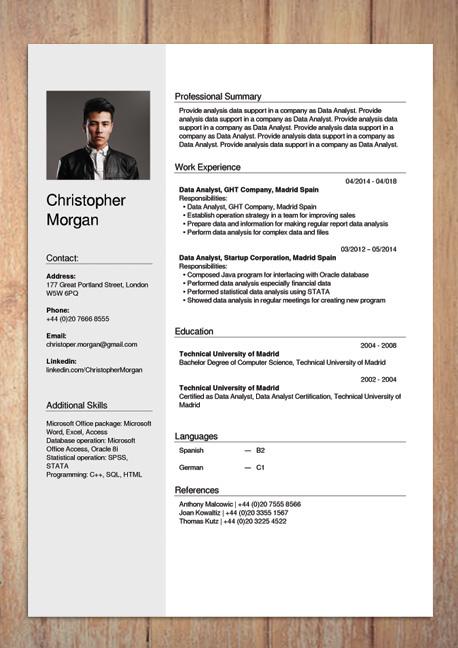 Free CV Creator Maker / Resume Online Builder PDF (With