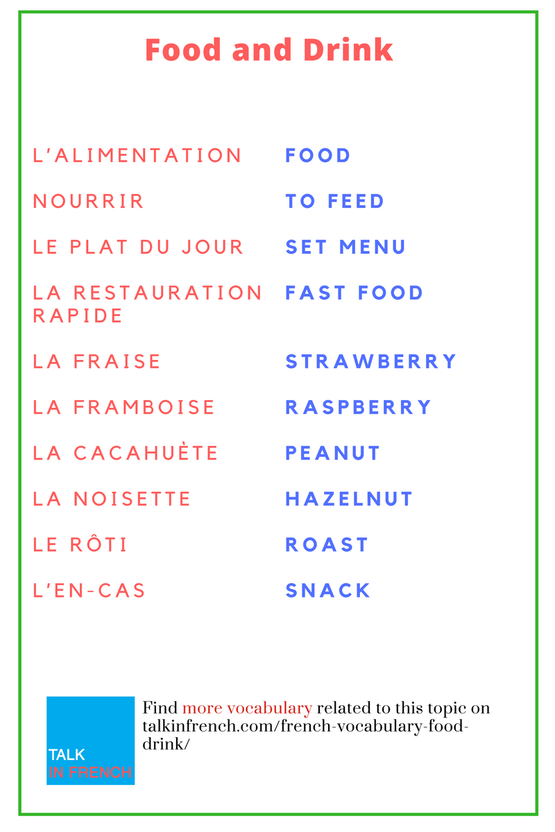 Learn French Vocabulary - Free download and software ...