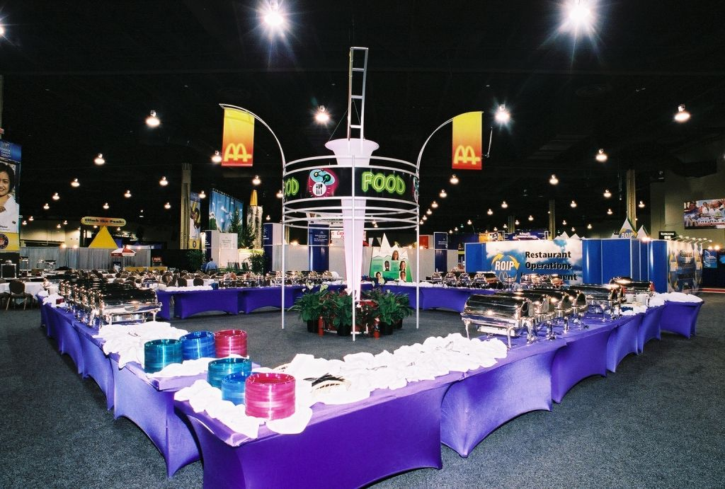 Pinterest & Buffet table setup for events. This is an inspiration image for ...