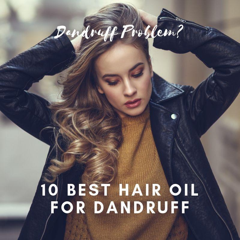 Best Hair Oil for Dandruff | Best Anti Dandruff Oil | VitSupp