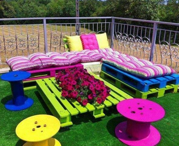 46 Genius Pallet Building Ideas | Decoracion | Muebles ...