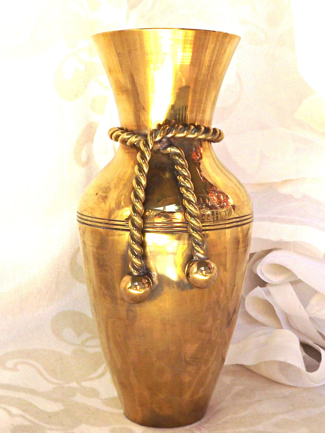 Brass vase home decor solid brass vase retro decor brass decor brass vase home decor solid brass vase retro decor brass decor reviewsmspy