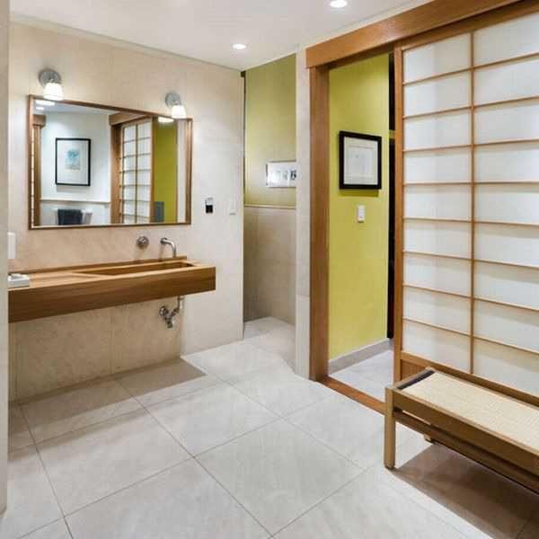 Elegant Modern Bathroom Design Blending Japanese Minimalist Style