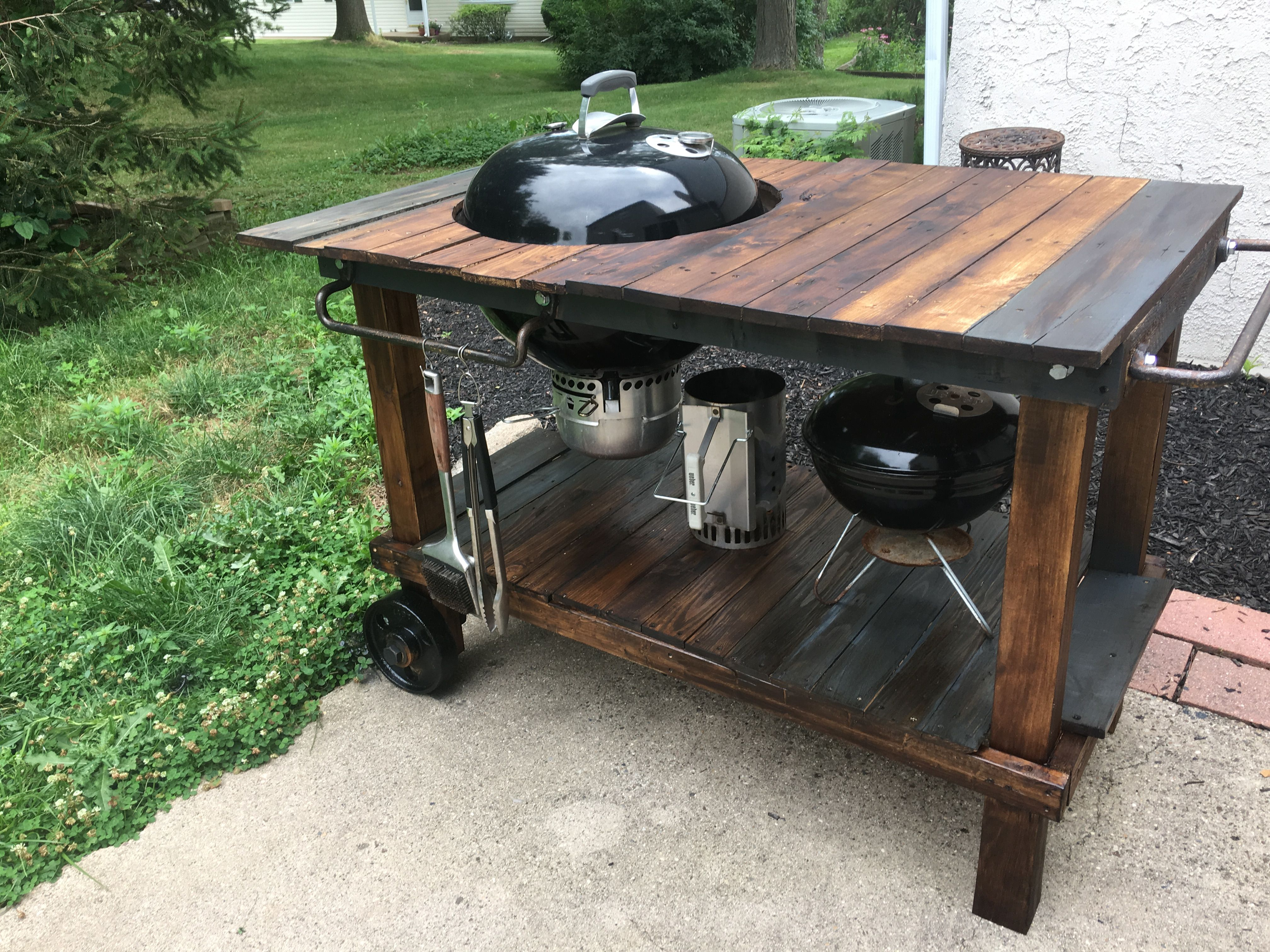 Pin By Luke Glantz On Government Work Grill Table Bbq Table Weber Grill Table