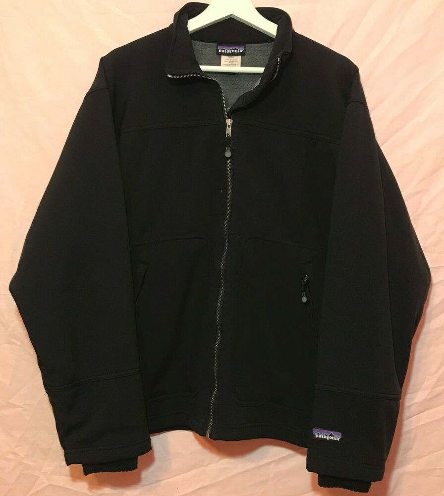 Patagonia Mens Black Soft Shell R1 Jacket Boilerplate Size Med Fleece Lined Patagonia Sof Mens Patagonia Fleece Patagonia Mens Jacket Men S Coats And Jackets [ 1000 x 896 Pixel ]