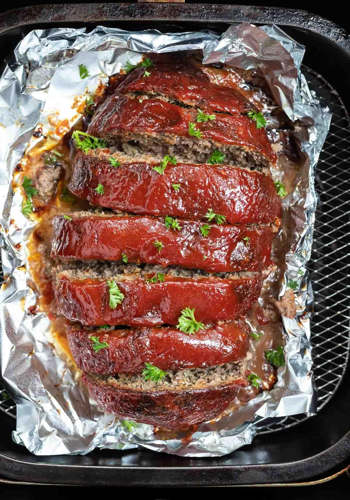 Air Fryer Meatloaf Recipe in 2020 Meatloaf, Air fryer
