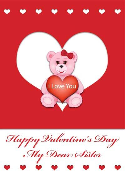Happy valentines day cards printable here for 19 free free printable valentine cards for brother and sister express your love for them by dedicating these valentines day cards especially for them high quality m4hsunfo Choice Image