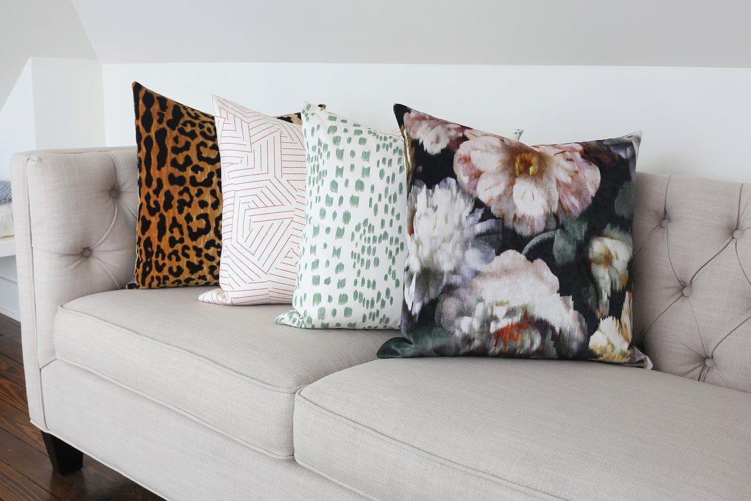 Leopard Velvet How to clean pillows, Leopard pillows