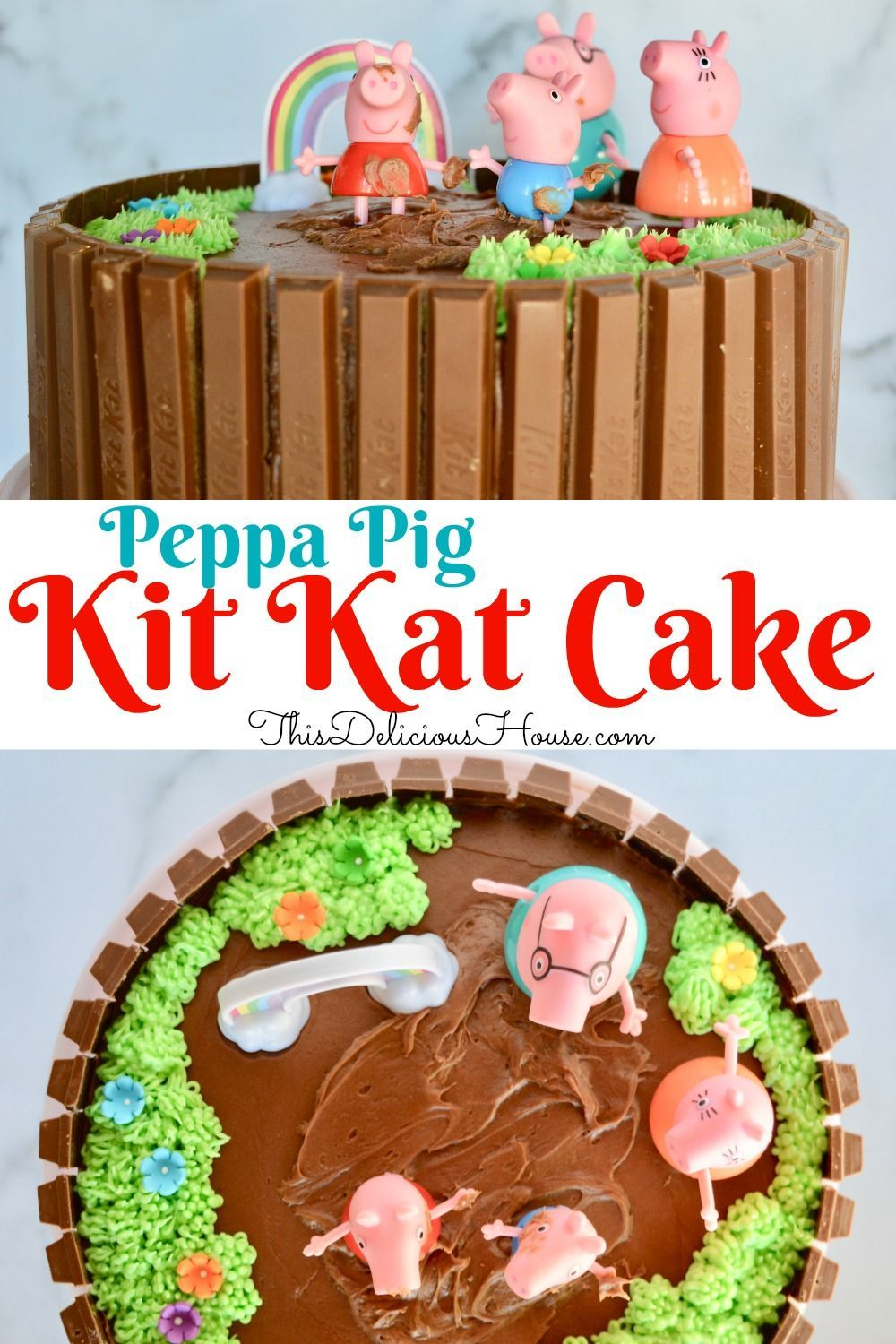 Marvelous Peppa Pig Birthday Cake Recipe Peppa Pig Birthday Cake Pig Funny Birthday Cards Online Inifodamsfinfo
