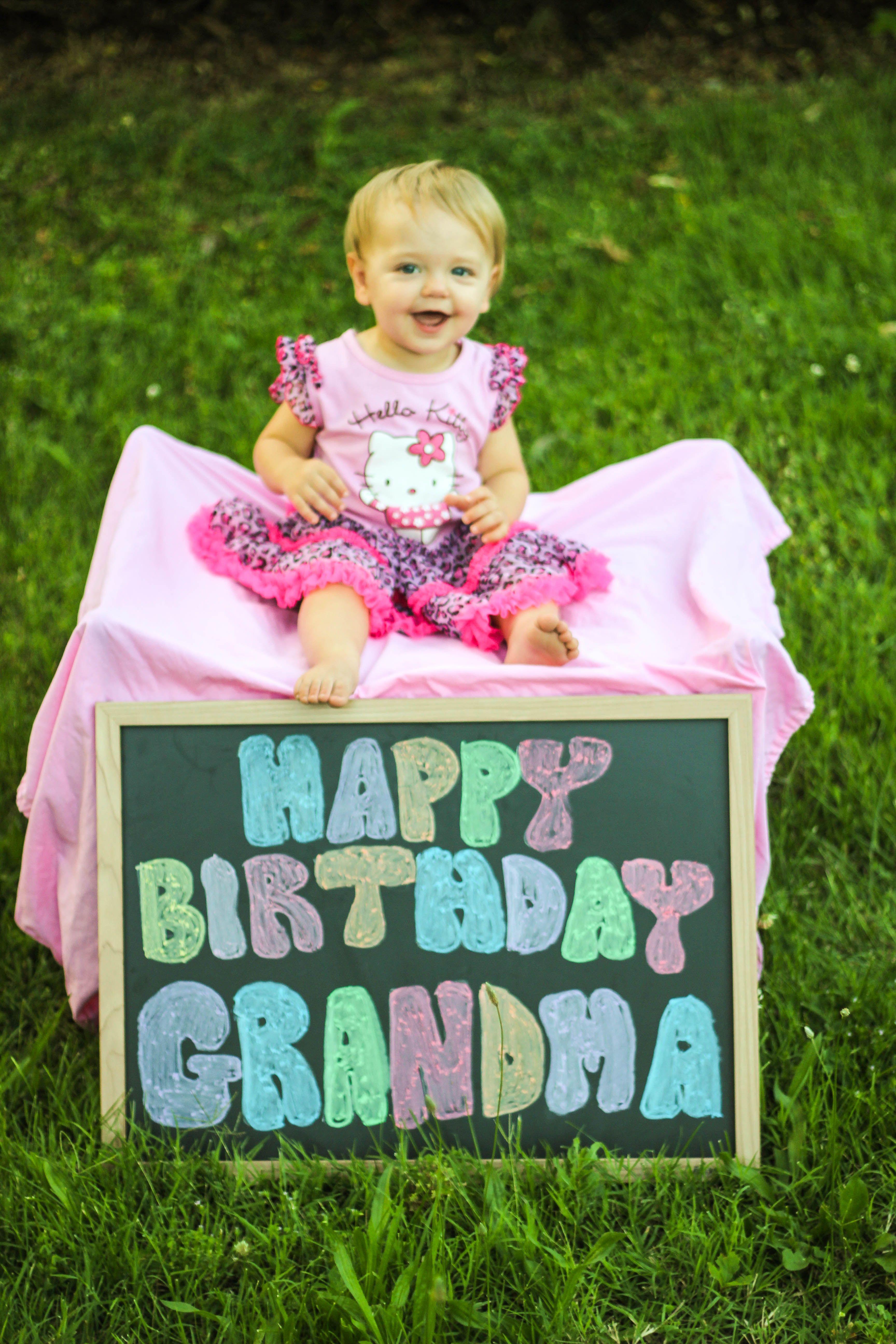 Khloe's Birthday present to grandma Homeschool preschool