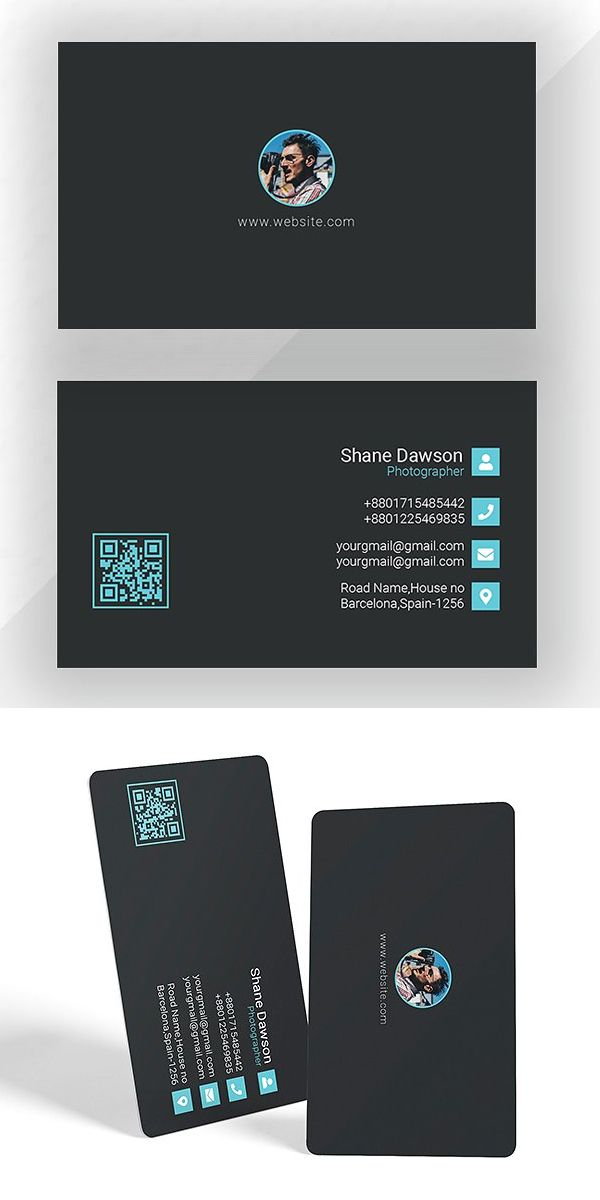 Photographer Business Card Template | diseño | Pinterest ...