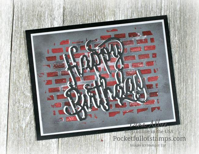 Urban Graffiti Birthday With Tutorial Video Cards Pinterest