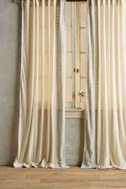 Smithery Curtain Rod Anthropologie, Window styles and Window