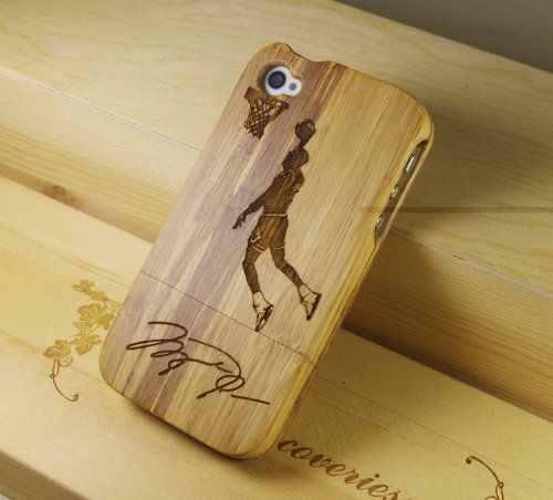 ideal-tech: Real Natural Bamboo Bastetball Star Wood Wooden Hard Case Cover iPhone 4 4S 4G ,111 by Ideal-tech, http://www.amazon.com/dp/B0090VV2Z2/ref=cm_sw_r_pi_dp_Mm9vqb0CH8Z2H