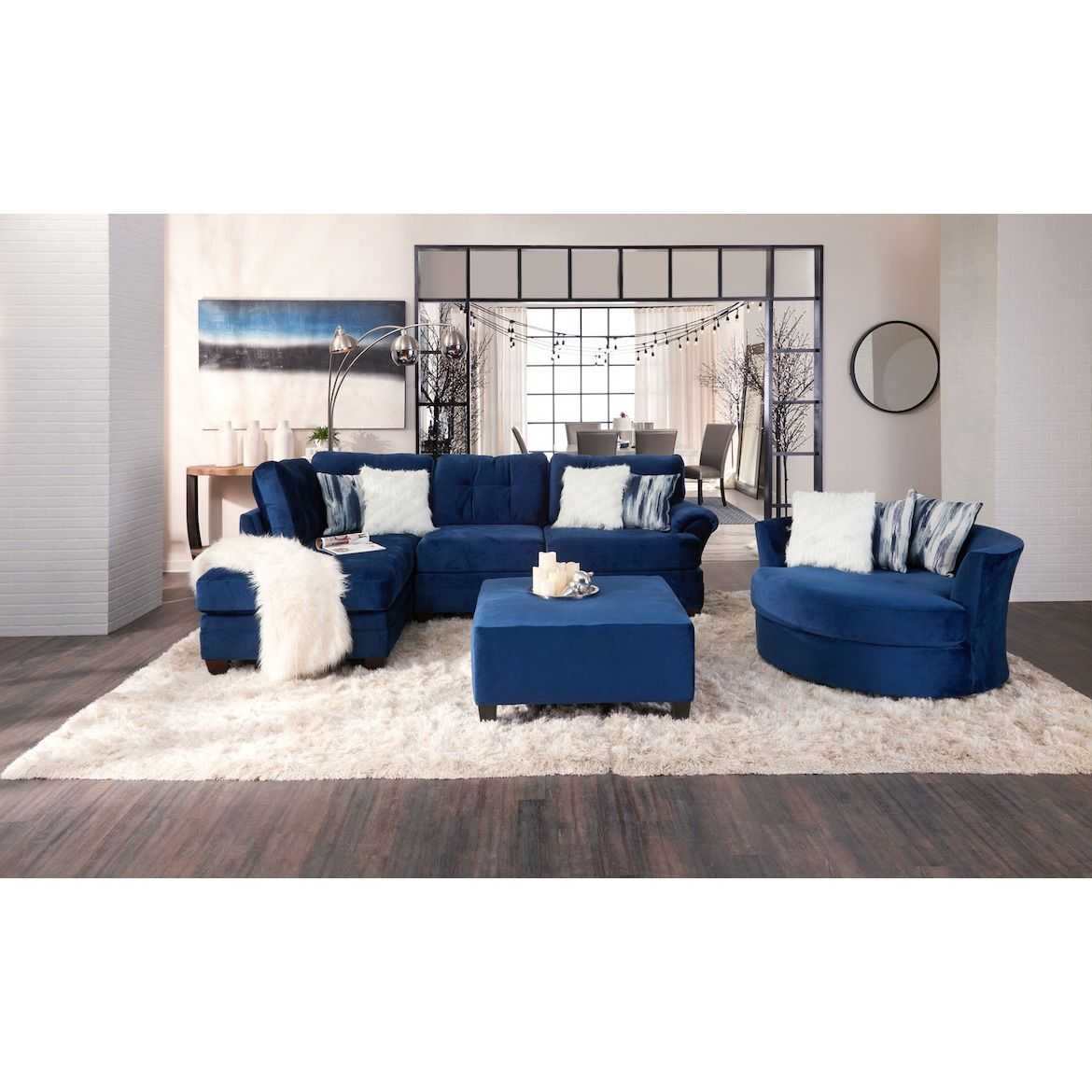Best Cordelle 2 Piece Sectional Free Ottoman American 640 x 480