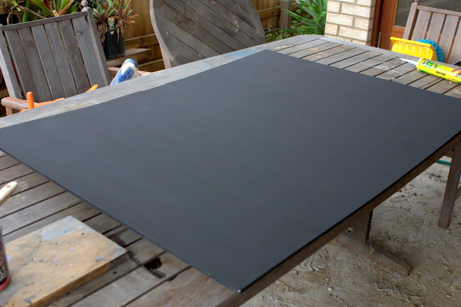 Max U0026 Me: DIY Outdoor Chalkboard