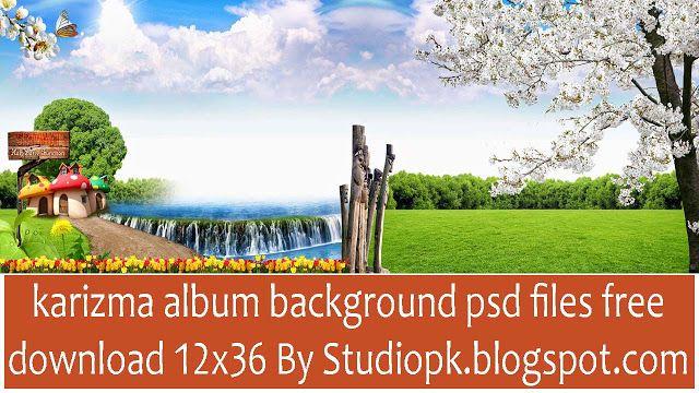 Wedding karizma album background psd files free download