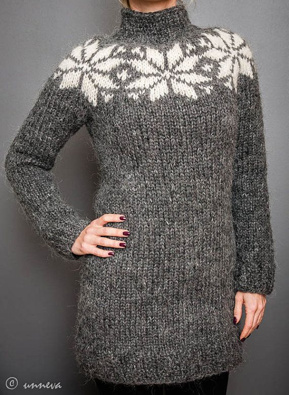 Icelandic Lopi Sweater - Big Star | Stricken | Pinterest | Stricken ...