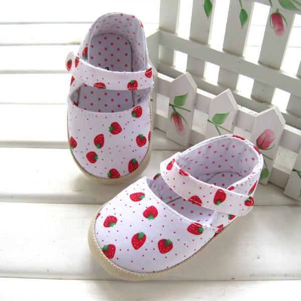 Cutest Cotton Strawberry Baby Girls