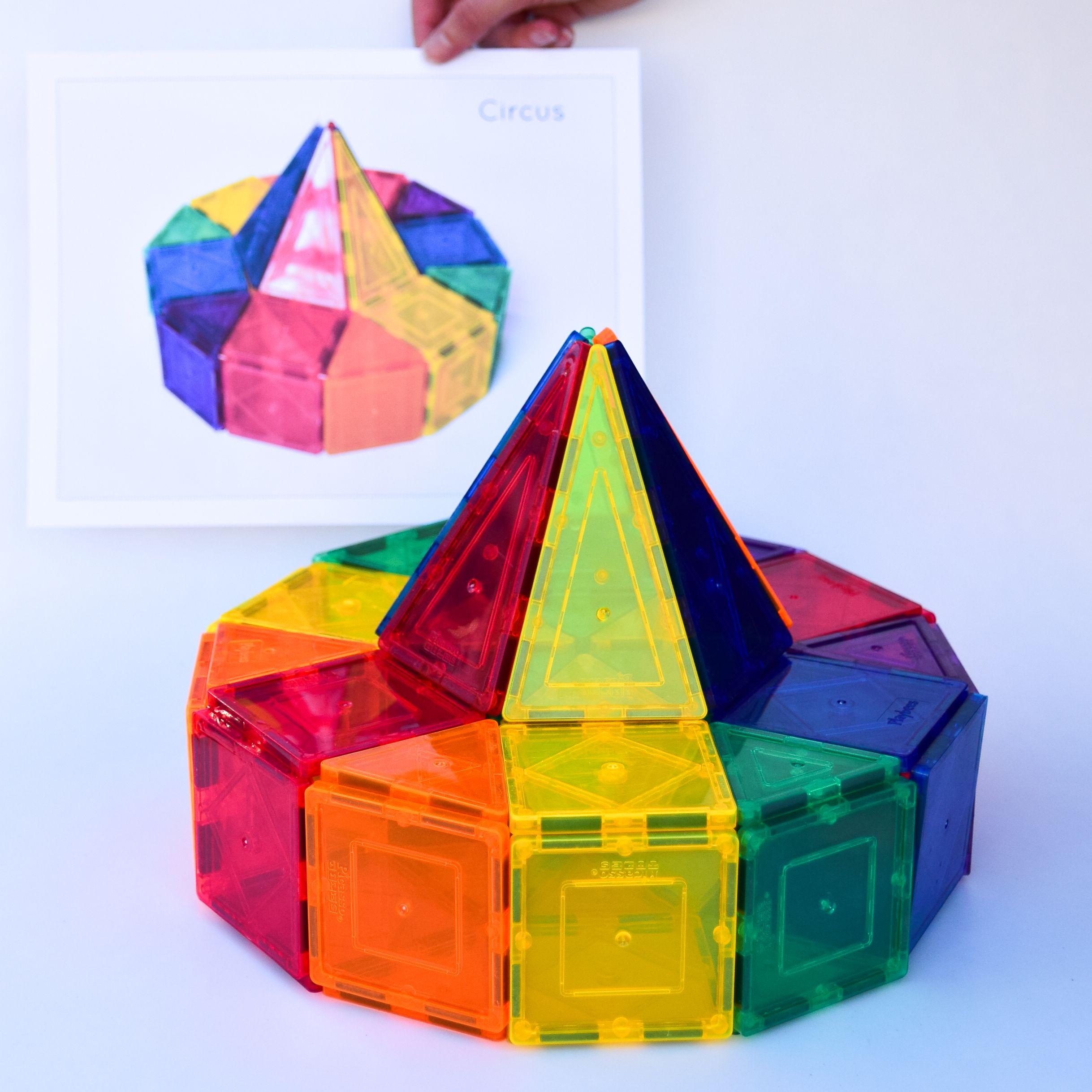 Magnetic Tiles Idea Cards 3d Creative Designs