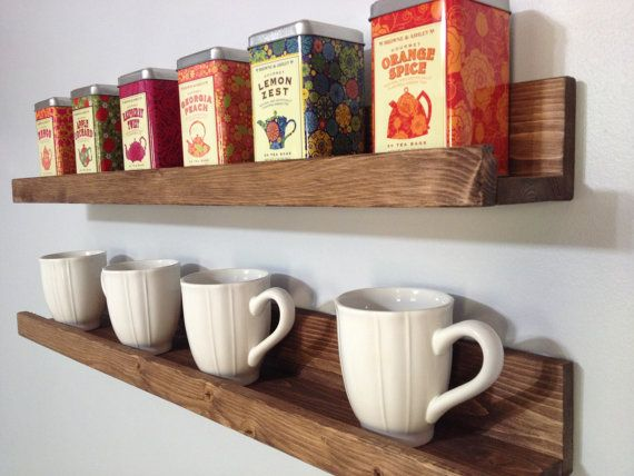 Pallet Coffee Mug Holder