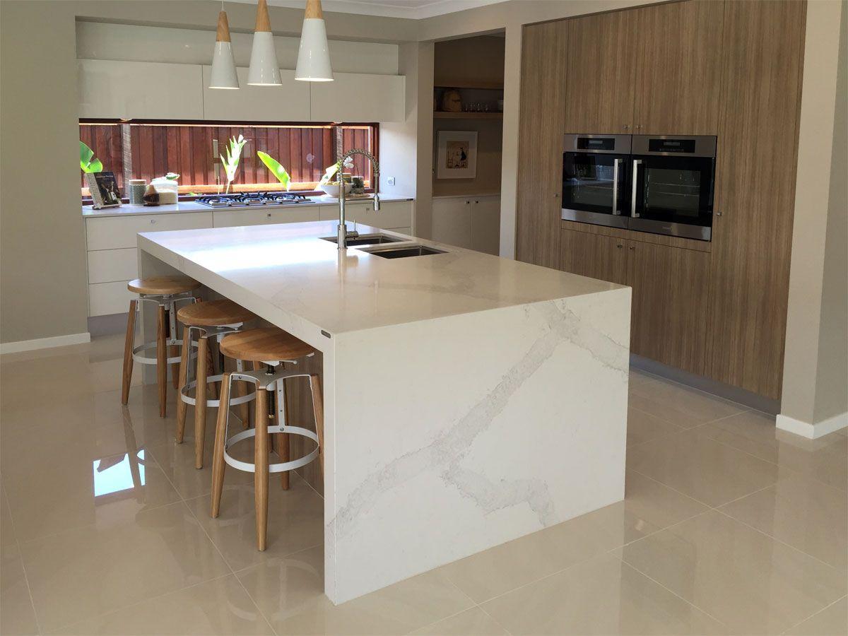 Best 5131 Calacatta Nuvo™ Metricon Simple Bathroom Renovation 400 x 300