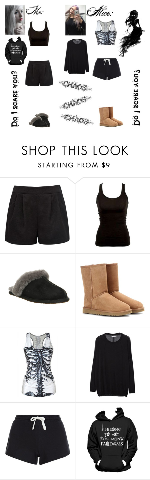 """""""Short story for @insane-alice-madness (RTD)"""" by jeanie-boyd ❤ liked on Polyvore featuring Forever New, UGG Australia, MANGO, New Look and Identity"""